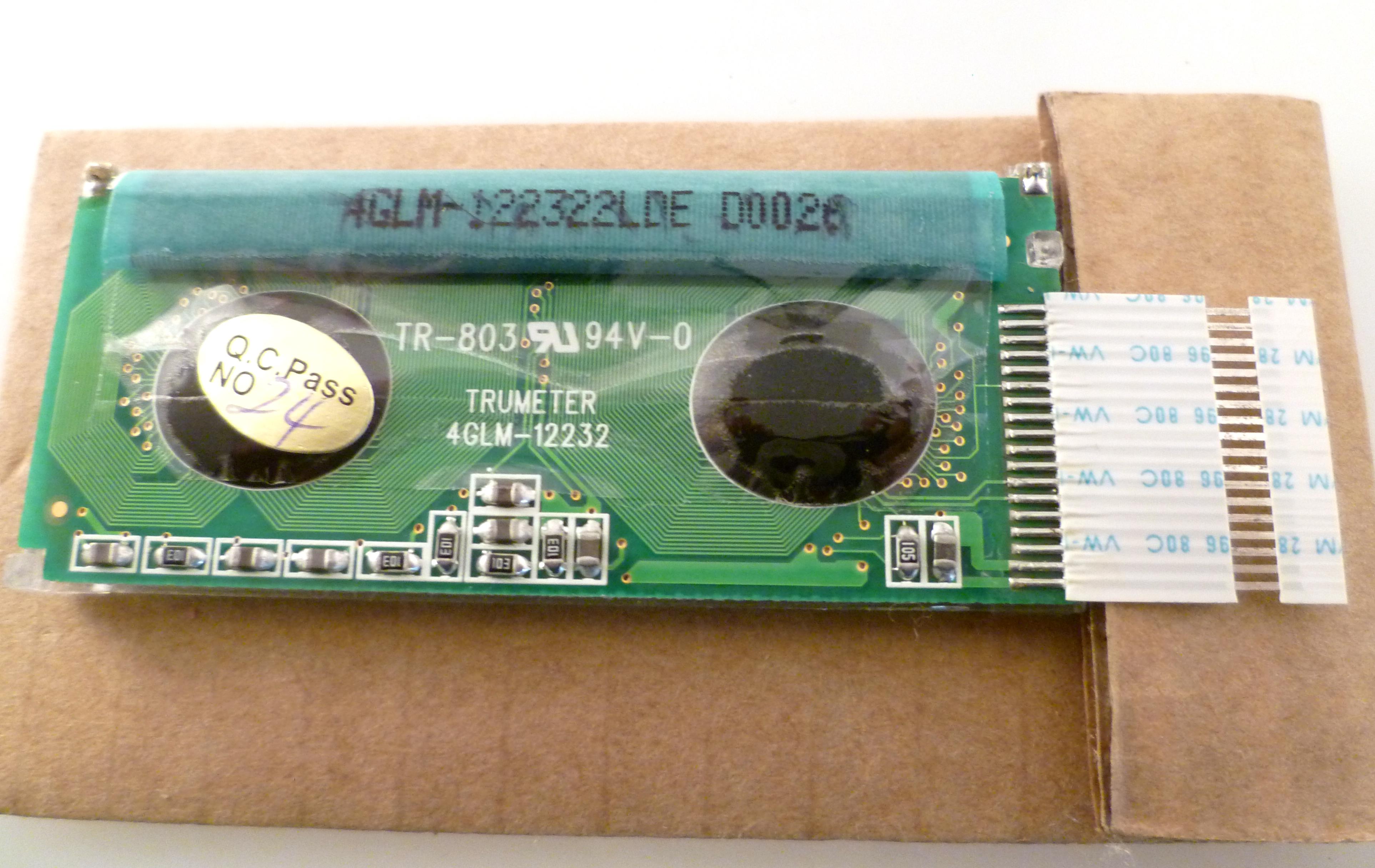 Falcon Trumeter 4GLM12232 retroilluminato grafico LCD Display Module OM0227