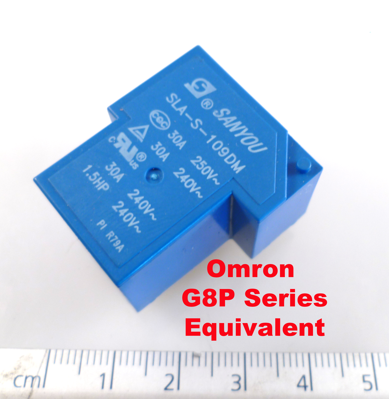 Sanyou SLA-S-109DM Relé Omron G8P-1A4P copia SPNO 9VDC Bobina 30A 250VAC OM1145A