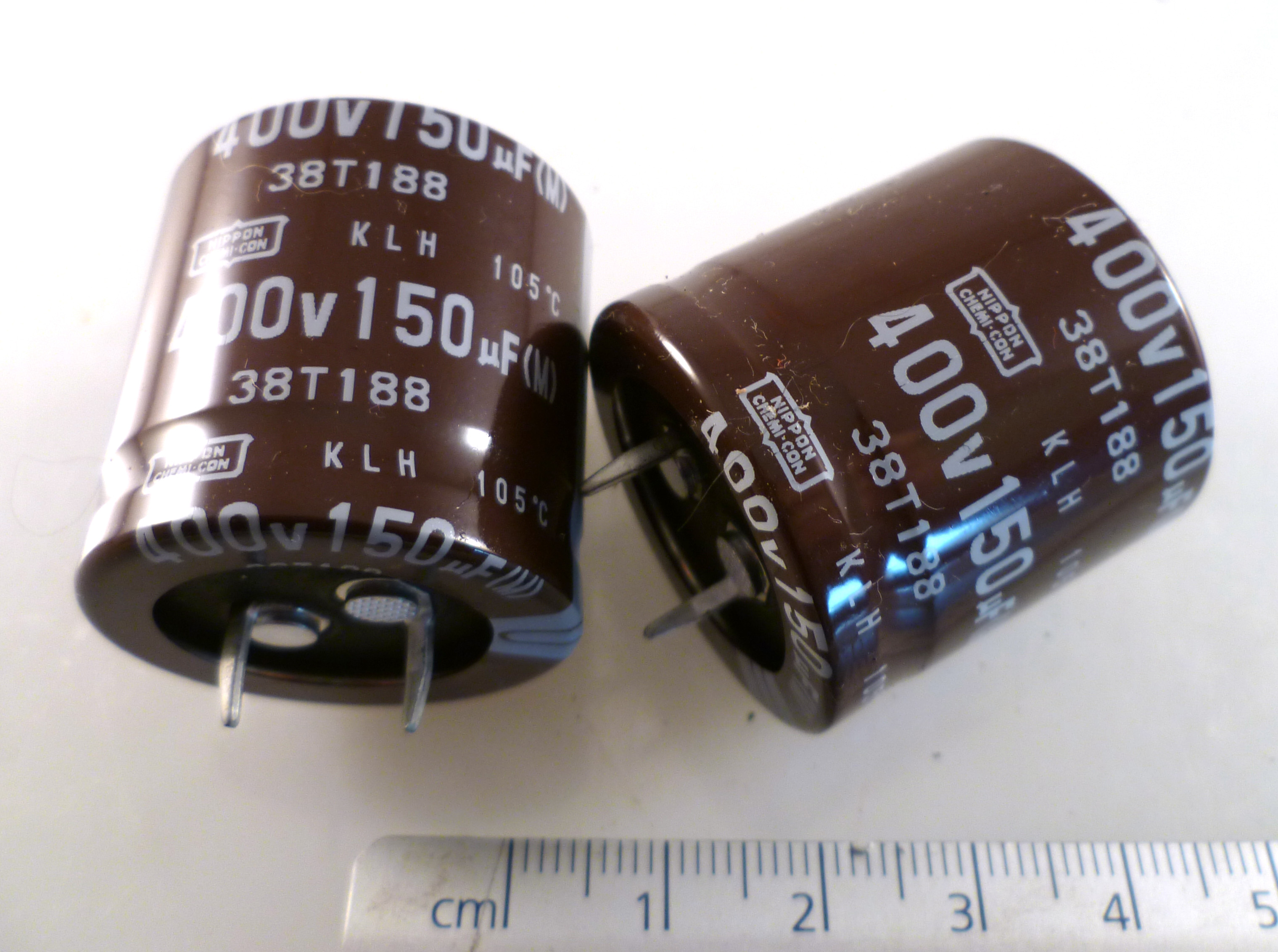 Radial Electrolytic Capacitor 50v 220uf 105/'C 10 Pieces OL0094