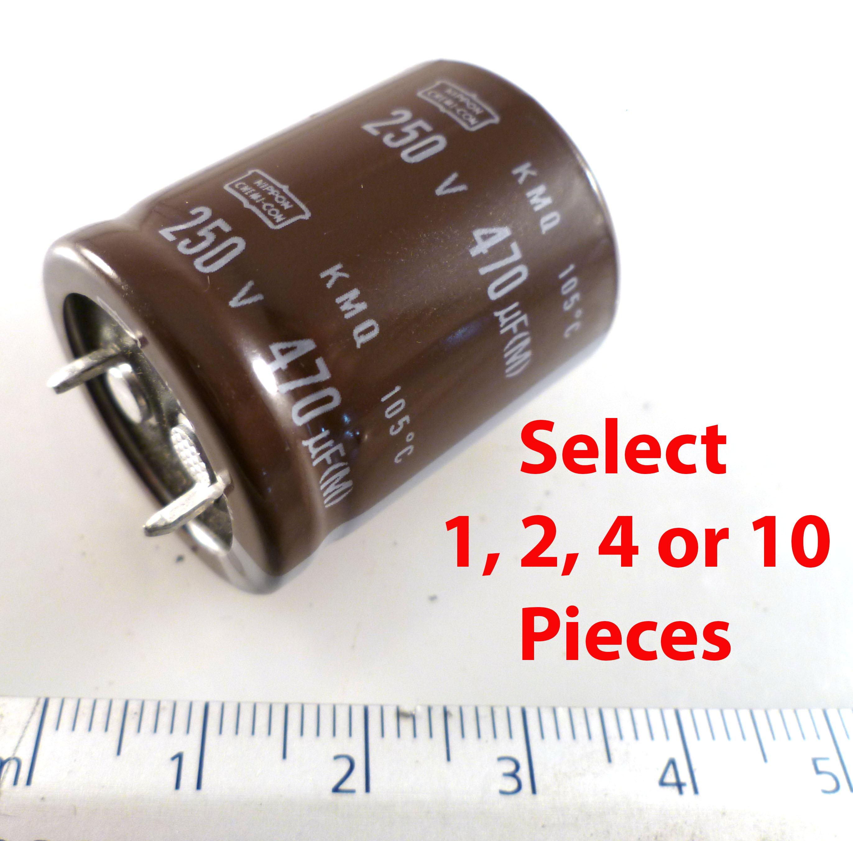 Nichicon UPM1V151MPD6 Electrolytic Capacitor 150uF 35V 105/'C 10 Pieces MBF020A