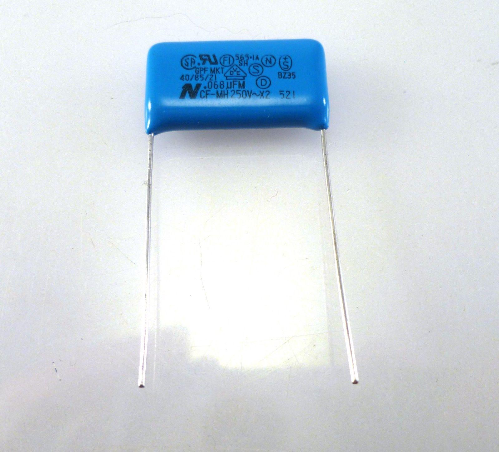 Condensador de poliéster Philips Metalizado Mkt-P X2 0.33uf//K//250VAC 2 piezas OL0511