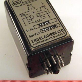 Arrow MSA30-26 240V Coil DPNO OFF//ON Encased Vintage Relay OM0357