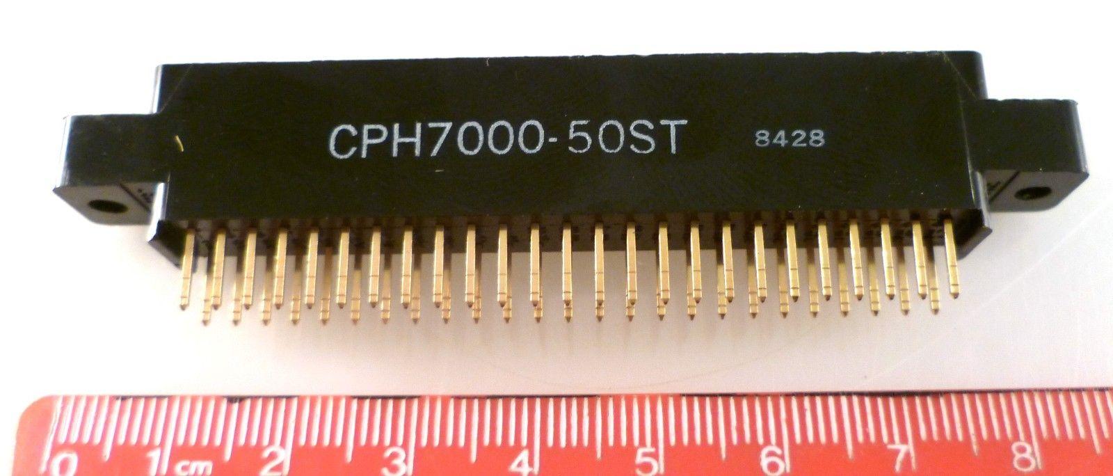 SAE CPH 7000-50ST Au Edge Connector 50 Way PCB Mount 0 1