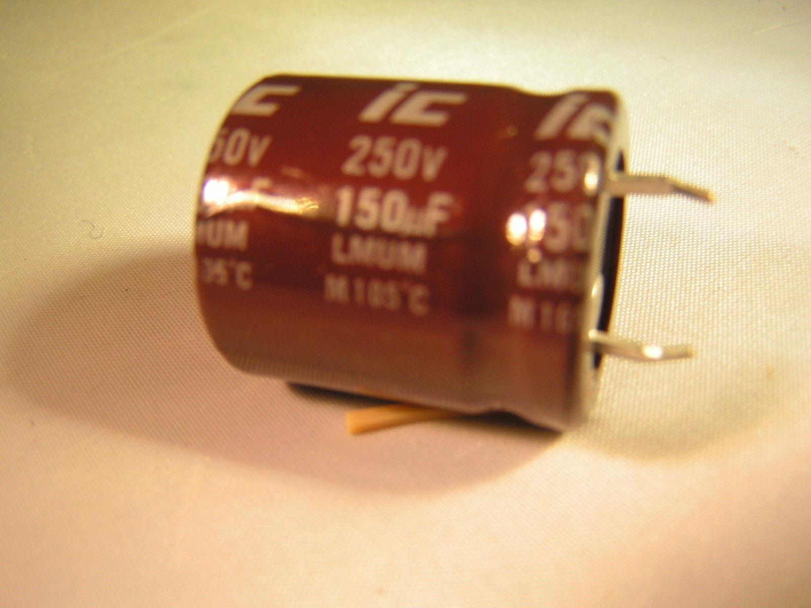 250v Electrolytic Capacitors Qty 10 150uf