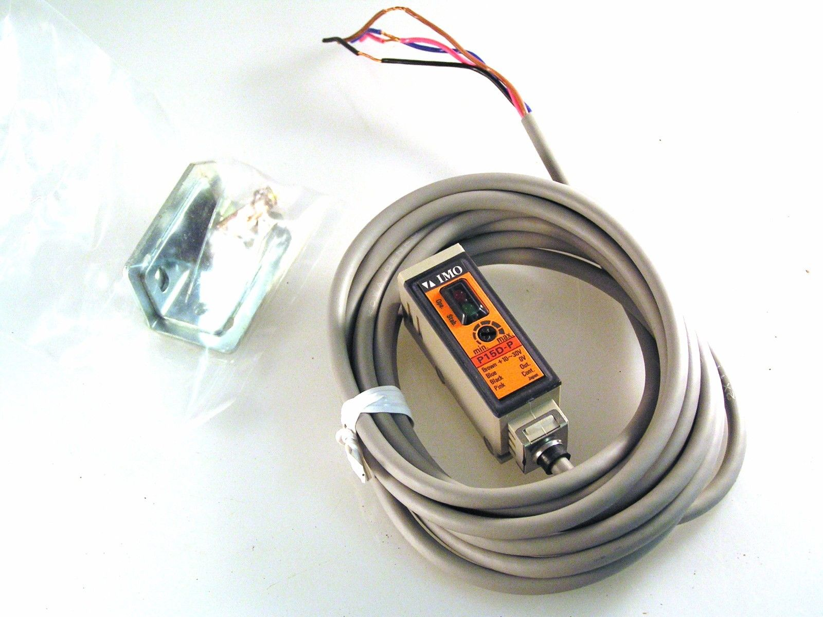 M18 IMO SS4//0P-0A Photo Electric Switch 10-30VDC Diffuse I211 MBB027d