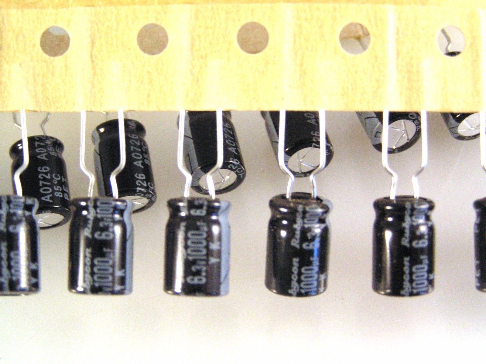 Rubycon YXF 10v 470uf Electrolytic Capacitor 105/'C ROHS 10 pcs OL0070