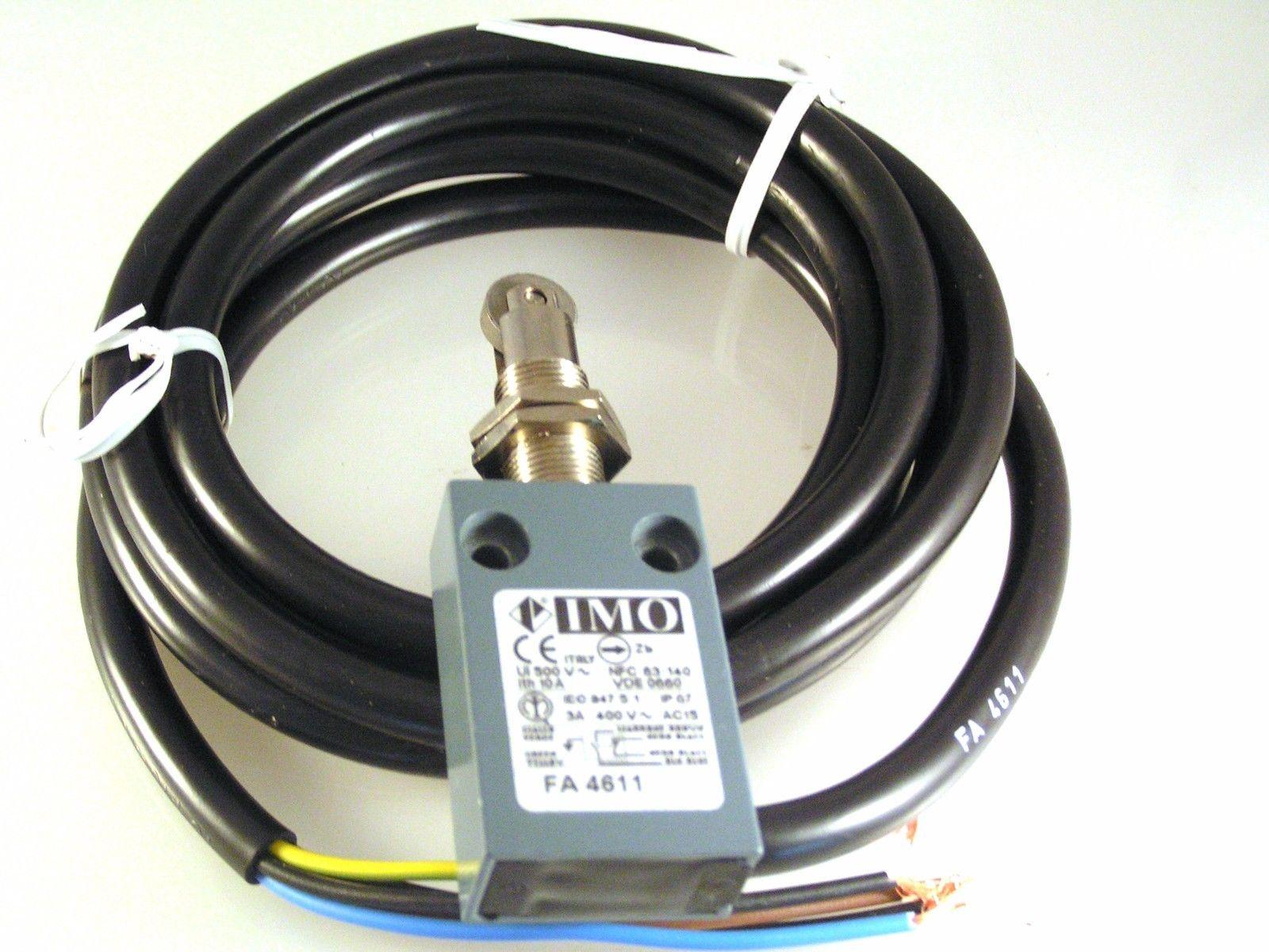 IMO FA4611 3A 400V Mini Precabled Limit Switch 1 NO and 1 NC Contact MBC003b