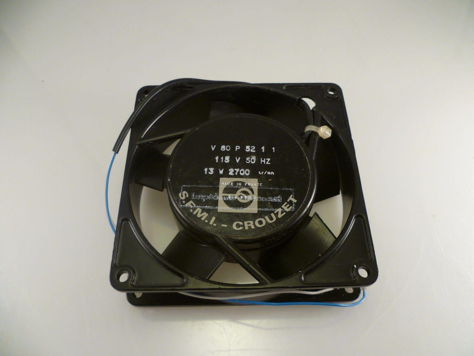 Crouzet 70546290 115VAC 0.21A 50//60Hz 2wire Aluminum frame cooling fan #ME50 QL