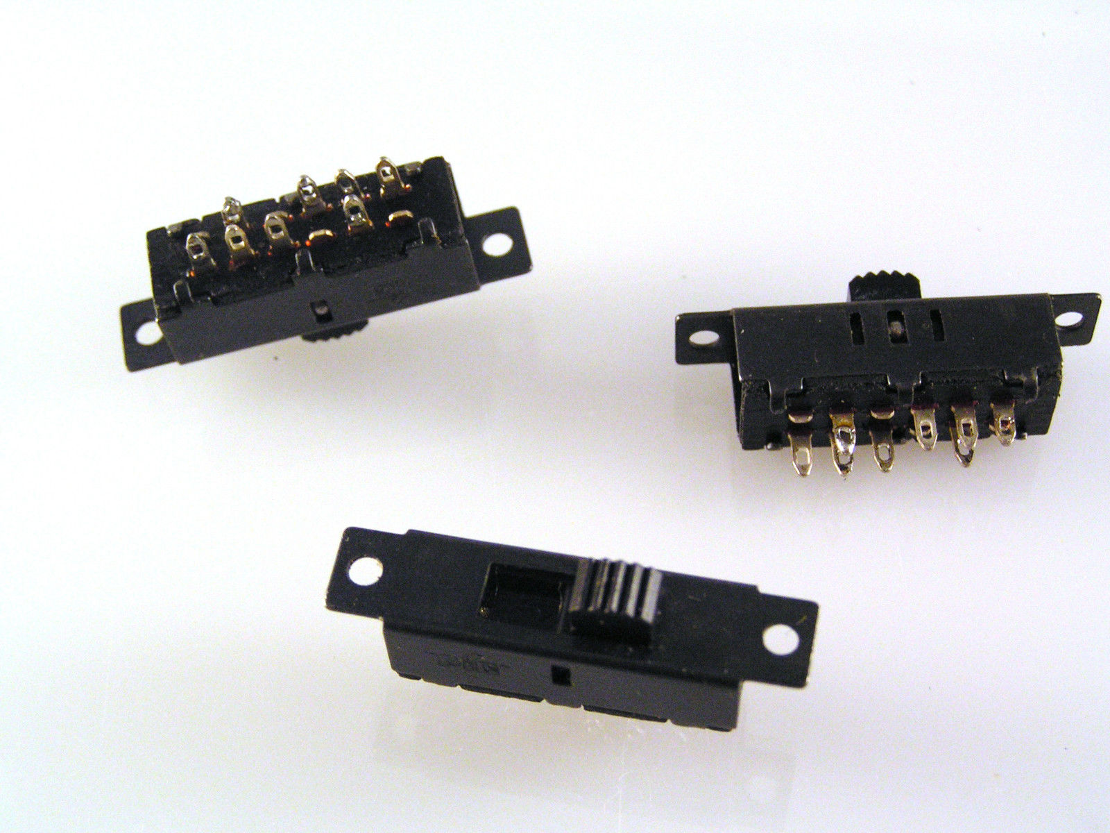 Interrupteur à glissière Single Pole 5 Position Miniature PCB Mount SSW25PC OM551 3 PIECES